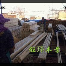 阜新铁杉木方木材板材方木厂家图片