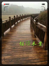 丹东东港樟松防腐木安装图片