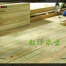 大連西崗防腐碳化木安裝圖片