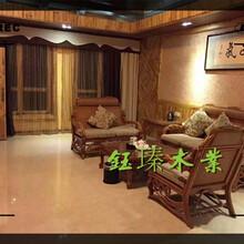 辽源龙山地板防腐木安装图片