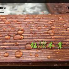 沈阳新城子防腐木栏杆安装图片