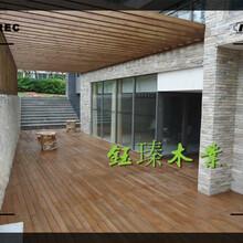 丹东凤城防腐木菠萝格安装图片