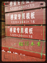 盘锦1.3公分木模板价格图片