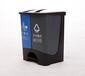 重庆市政环卫提倡用分类40L垃圾桶
