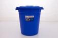 重庆安置房户外收集垃圾的160L的圆桶