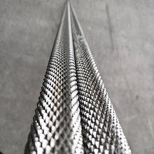 304不锈钢滚花棒哑铃健身器材部分滚花圆棒防滑耐磨圆棒图片