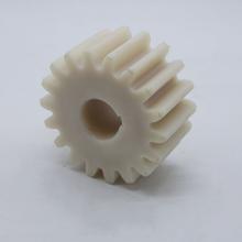 廠家定做耐磨絕緣尼龍件尼龍齒輪尼龍減速機齒輪MC耐磨塑料齒輪加工圖片
