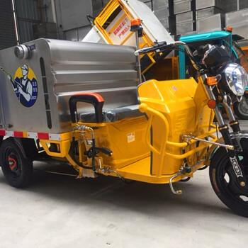 柳寶LB-15B高壓清洗車電動高壓清洗車駕駛式清洗車三輪高壓沖洗車