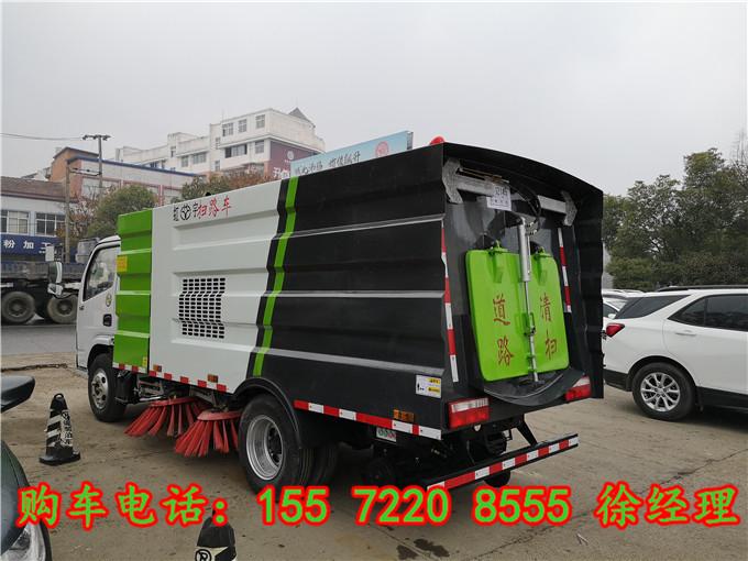 洗掃車廠家:室外吸塵車,東風天錦吸塵車,東風天錦小型吸塵車參數圖片