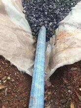 河南线性排水沟软式透水管三维复合排水网土工布郑州国之塑