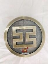 圓形鋁合金雕刻拉手圓形祥云大門拉手工行專用拉手表面石紋效果非常美觀圖片