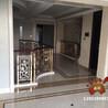 酒店金黃銅樓梯護欄