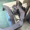 鐵方管切角對折90度角機器防盜網護欄液壓切角機