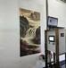 HZ-S1大型3d立体墙体彩绘机智能喷绘机万能户外广告打印机设备高清自动