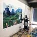 智能3d立體墻體彩繪機自動高清噴繪機廣告打印機