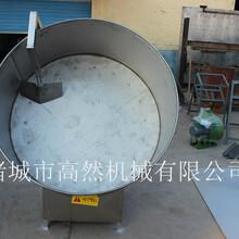 廠家直銷圓盤元宵機不銹鋼元宵滾制設備開口式元宵機圖片