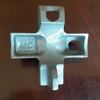 小扣件大作用直角瑪鋼扣件嚴格的生產過程保證正常使用