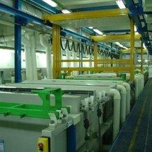 定制工业用五金行业机械臂式多槽全自动龙门电镀生产线图片