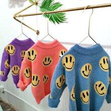 男女童装针织打底衫圆领时尚韩版新款童装毛衣便宜针织打底衫批发图片