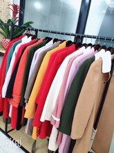 呢子大衣批发新款女装厂家中长款羊毛毛呢外套摆地摊3元货源图片