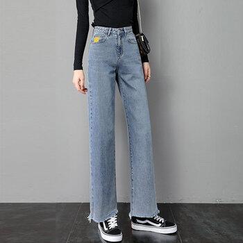 清倉休閑牛仔褲新款女士服裝雜款雜碼女裝庫存尾貨便宜牛仔褲清貨