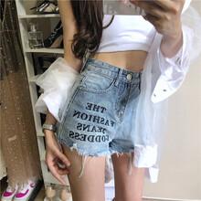 江西宜春牛仔短褲女式品牌女裝貨源市場百搭工裝寬松新款雜款