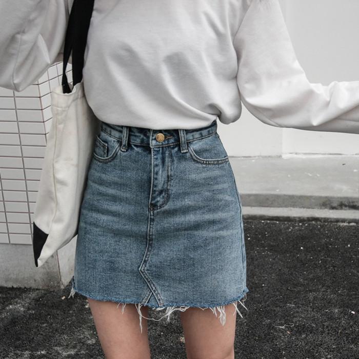 浙江麗水牛仔短褲女直筒褲十元以下服裝批發清新甜美破洞牛仔褲女