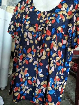 義烏商城中老年媽媽裝T恤6元以內的中年短袖10元一件擺攤服裝