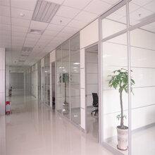 玻璃隔斷防火隔斷,廣州玻璃隔墻定制廠家圖片
