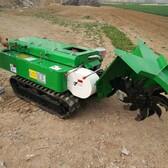 农用履带式打药机履带式果园开沟施肥机履带式旋耕机厂家