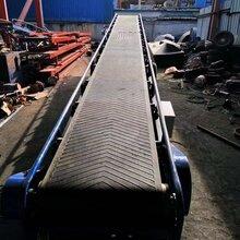 定制爬坡皮带输送机流水线皮带输送机提升降移动设备带式输送机图片