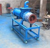 畜禽粪便干湿分离器螺旋式猪粪干湿分离机猪场粪便处理机械
