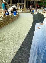 无锡胶粘石地坪供应商图片