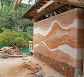 杭州民宿墙面材料透水混凝土材料供应图片3