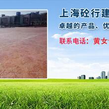 广西彩色透水混凝土路面图片