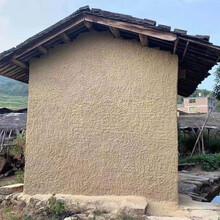 永州夯土墙材料厂家东安县稻草墙面施工队图片