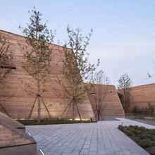 常宁市仿旧黄泥土自裂纹墙面做法民宿夯土墙做法,材料厂家图片