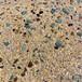 覃塘砾石洗砂地面施工海洋砾石洗砂地坪材料厂家