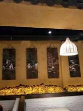汨罗市稻谷泥墙面仿古夯土墙仿黄土裂纹泥墙面材料供应图片
