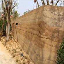 泉州晋江市夯土墙材料批发稻草墙面施工包工包料图片