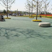 廣州露骨料透水混凝土施工透水混凝土材料供應圖片