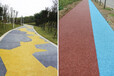 梧州彩色透水地坪铺装透水混凝土增强剂