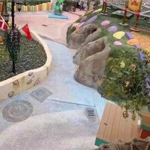 许昌市艺术洗砂地坪工程施工,河南砾石洗砂地坪材料