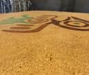 梧州市砾石洗砂地面施工游乐园洗砂地坪施工图片