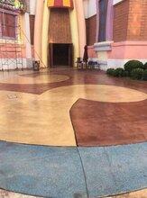 吉安市洗砂面材料江西彩色砾石地坪施工队