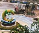 广西南宁彩色洗砂地坪做法聚合物砾石地坪包工包料图片