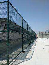 学校篮球场护栏勾花网安装墨绿色草绿色围网定做
