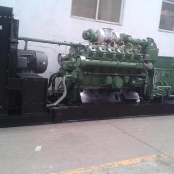 厂家供应济柴、胜动12V190天然气发电机组,500kw天然气发电机组