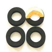海绵厂生产加工黑色3MM厚耐油橡胶海绵密封件