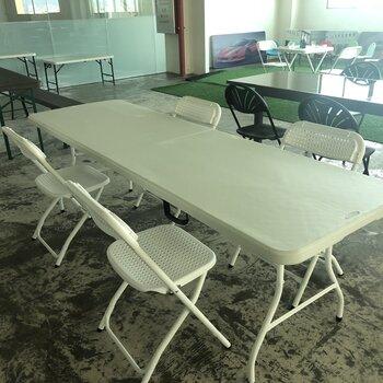 全新急轉,折疊椅低32一張,270五件套,清一批折疊桌椅,公司搬遷,處理